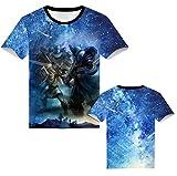 IFITBELT Zelda Breath of The Wild T-Shirt Kurzarm Herren Damen, Jungen Mädchen Kinder Kurz Shirt Sommer Rundhals Tee Tops (S,ZD9)