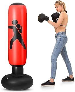 كيس الملاكمة البلاستيكي من ليكسادا قابل للنفخ 5.2 قدم