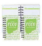 Paper Junkie 3 Pack 90 Day Meal Tracker Pocket Food Journal for Diet, Calorie Counting, & Weight Loss, 5 x 3.5 Inches