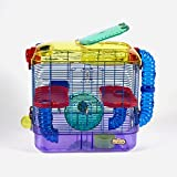Kaytee 100079217 CritterTrail Two-Level Cage, Habitat for Hamsters, Gerbils...