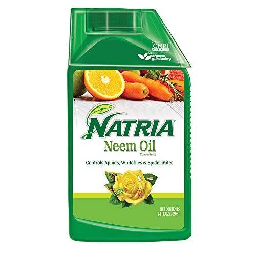Natria 706240A Organic Plant Protection From Pests and Diseases Neem Oil Concentrate 24 Oz,...
