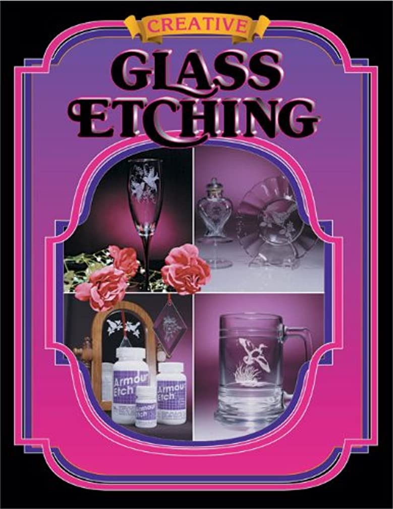 Armour Etch Glass Etching Book