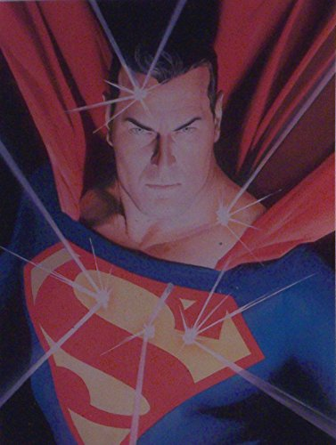 Superman Mythology Art Print by Alex Ross DC Comics - Matted to 8 x 10 Inches.