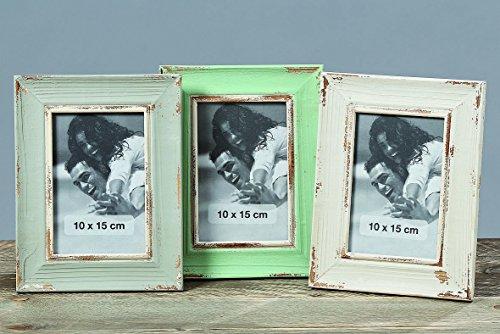 Vintage cadre photo 10 x 15 cm-lot de 3