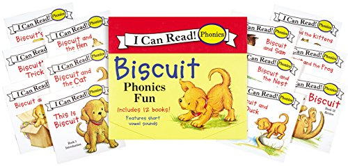 Biscuit 12-Book Phonics Fun!: Includes 12 Mini-Books Featuring Short and Long Vowel Sounds (My First I Can Read)の詳細を見る