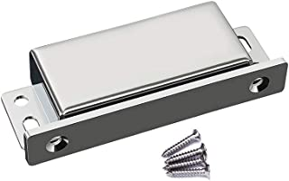 WOOCH Magnetic Door Catch with Strike Plate - 70lb High Magnetic Stainless Steel Heavy Duty Catch for Kitchen Bathroom Cupboard Wardrobe Closet Closures Cabinet Door Drawer Latch (Silver)