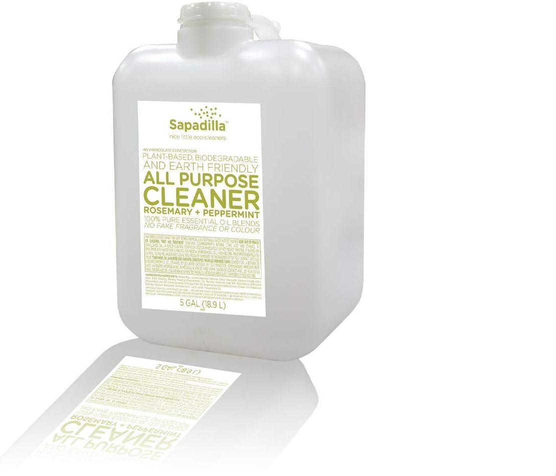 Sapadilla Rosemary half + Peppermint Biodegradable Bombing new work Cleane All-Purpose