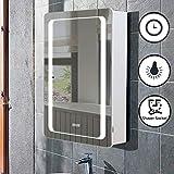 Lifelook LED Spiegelschrank Badspiegel Badschrank mit Beleuchtung Badezimmerspiegel...