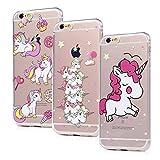Lot de 3 Coques pour iPhone 6 / iPhone 6s, Badalink Case Housse Étui Bumper Coque...