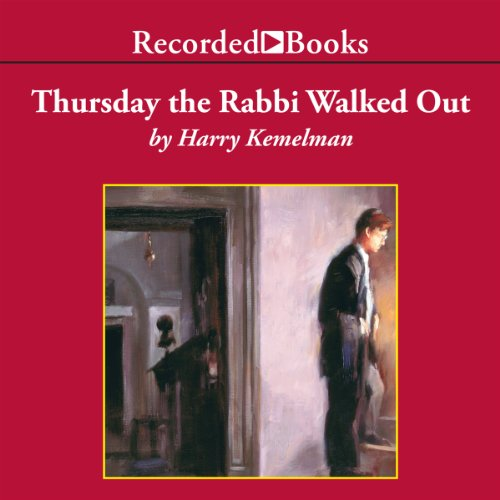 Thursday the Rabbi Walked Out audiobook cover art