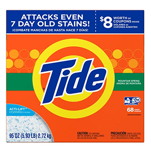 Top tide laundry detergent powder 180 loads for 2020
