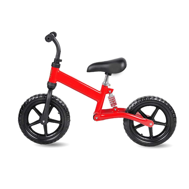 バランスのとれた自転車 - ペダルなし子供用自転車 - 高さ調節可能サドル - 子供用自転車2?5年
