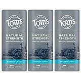Best Mens Natural Deodorants - Tom's of Maine Natural Strength Plastic-Free Aluminum-Free Deodorant Review