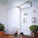 Toldo Cubierta de Policarbonato en Jardín,Marquesinas Exterior para Puertas y Ventanas,Marquesina...