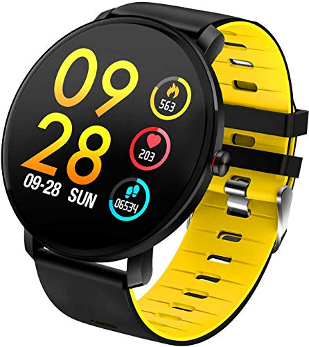 Smartwatch IP68 wasserdichte Fitness Armband Voll Touchscreen Aktivitätstracker Schrittzähler Schlafmonitor Kalorienzähler Farbbildschirm