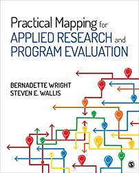 book cover - Practical Mapping for Applied Research and Program Evaluation, Bernadette Wright and Steven E. Wallis