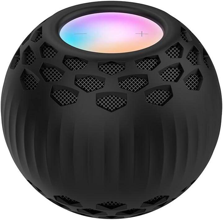 Dan&Dre Funda protectora de silicona compatible con Homepod Mini Smart Bluetooth Altavoz Funda protectora a prueba de polvo a prueba de caídas