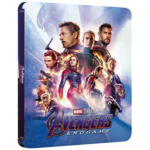 Avengers Endgame 3D, Lenticular Steelbook, Blu-ray 3D + Blu-ray ohne deutschen Ton, Zavvi exklusive, Uncut, Regionfree, OOP