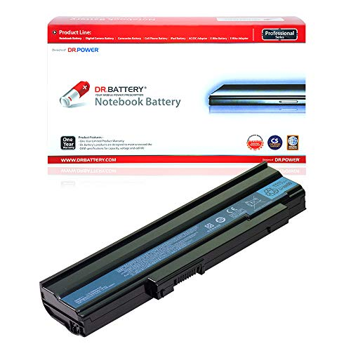 Dr. Battery Laptop Battery for Acer/Gateway AS09C31 AS09C70 AS09C71 AS09C71 Extensa 5235 5235Z 5235G 5635 5635G 5635Z 5635ZG NV4000 NV4200 NV4400 NV4800 [11.1V/4400mAh/49Wh]