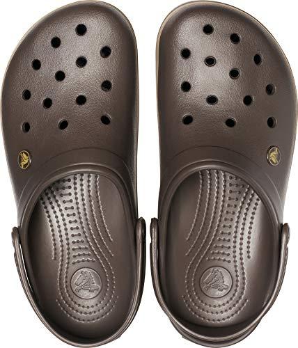 Crocs Unisex-Erwachsene Crocband Clogs, Braun - 8