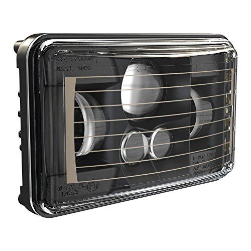 JW Speaker 0552671 Black Beam Heated Headlight