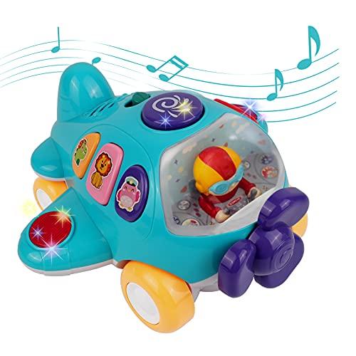 DeeXop Juguete de bebé de más de 18 Meses, Juguete con luz y música, Juguete electrónico para niños pequeños y niñas, 2, 3, 4 años de Edad