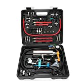 RanBB Automotive Non-dismantle Fuel Injector Cleaner Tester, Fuel System Fuel Injector Cleaner Tool Set, Air Intake System Cleaning Tool with Carrying Case (GX100 Senior)