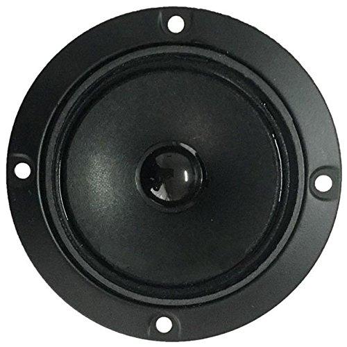 Tweeter Magnetico 4' (circa 10 Cm.) 98mm. a Cupola e Cono Chiuso 100 Watt Max 8 Ohm, Utilizzabile come Ricambio per Casse Acustiche hi-fi casa o per installazione su auto