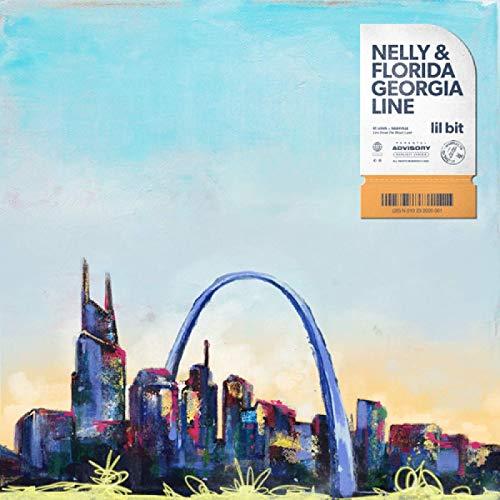 MGSHN Cantante de música Country Nelly y Florida Georgia Line Portada del álbum Lil bit póster Imagen Lienzo Pintura Obra de Arte -60x60cm sin Marco