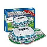 Mankvis Puzzle 3D Veltins Arena, Bundesliga Schalke 04 Fútbol Estadio de la reproducción, Fans y Aficionados