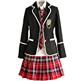 URSFUR-uniforme giapponese scolastica bambina,cosplay anime,uniforme cheerleading- Stil 10-S