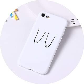 Funny Expression Cartoon Cactus Silicone Matte Soft Phone Case Fundas for iPhone 7 Plus 7 6Plus 6s 6S 5S 8 8Plus X XS Max,7,for iPhone Xs Max