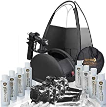 Rapidtanpro Spray Tan Machine. Full Professional HVLP Airbrush Kit with Tent, Gun, Pro Tent and Sunless Tanning Solutions
