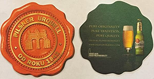 Pilsner Urquell Od Roku 1842 20 Beer Bar Pub Coasters New