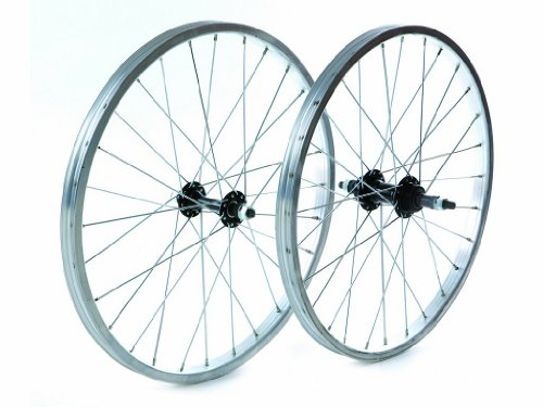 Tru-build Wheels RGH720 - Ruota Anteriore, 20' x 1.75', Colore: Argento