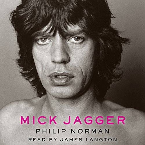 Mick Jagger audiobook cover art