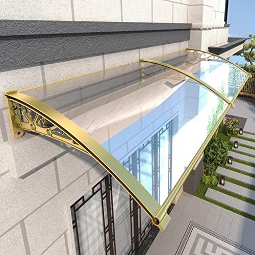 Générique 2,5 mm d'épaisseur pour Porte, fenêtre, Jardin, terrasse, Balcon, Frein à Champagne + Planche Transparente, 60×240cm