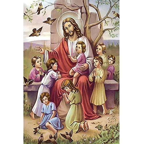 Jesus Puzzle 300/500/1000/1500/2000/3000/4000/5000/6000 per adulti bambini puzzle regalo 0119 (colore : D, dimensioni: 3000 pezzi)