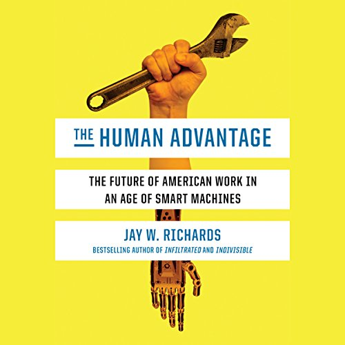 The Human Advantage audiobook cover art