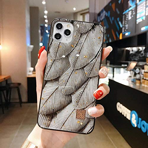 N-B Chic Marble Gold Foil Phone Casesfori Phone1211 Pro MAX X R X876 Plus Glitter Soft Silicone Coverfori Phone X S MAX S E2020