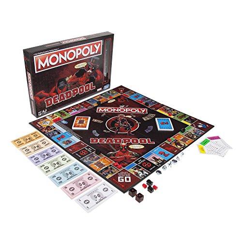 Monopoly Deadpool Marvel Heroes – Gesellschaftsspiel – Brettspiel – französische Version