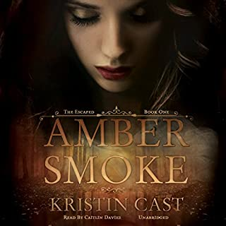 Amber Smoke audiobook cover art