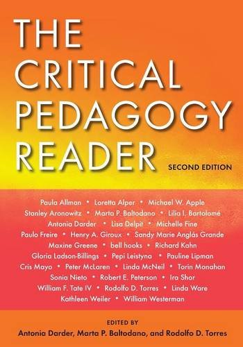 Image for publication on The Critical Pedagogy Reader: Second Edition