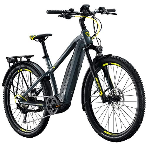Conway Cairon C 427 eBike MTB, Mountainbike Anthrazit Modell 2020 (L 49cm)