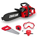 Toy Choi's Kids Size Construction Yard Toy Pack Tool Big Play Realistic Chainsaw