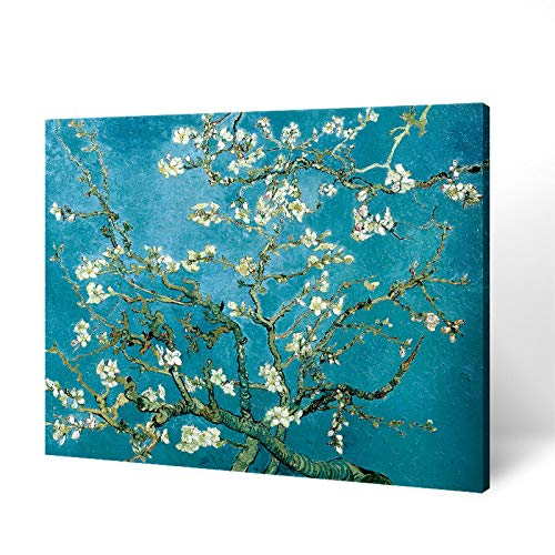 Pintura al óleo de fama Mundial Van Gogh Pintura al óleo Pintura de Paisaje Dormitorio Restaurante Pintura E 60 * 100 cm