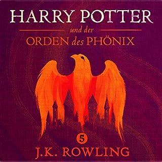 Harry Potter und der Orden des Phönix (Harry Potter 5) [Harry Potter and the Order of the Phoenix] audiobook cover art