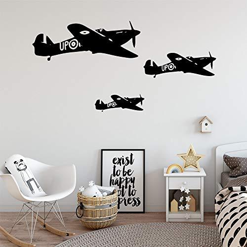 yaonuli Vinilo Volador de Dibujos Animados Sala de Estar decoración Mural extraíble Vinilo Decorativo Mural 45X90cm