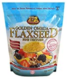 Premium Gold Ground Flax Seed High Fiber Food, Omega 3, 24 Ounce