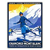 NOT Chamonix-Mont Blanc Interessante Poster Einzigartige